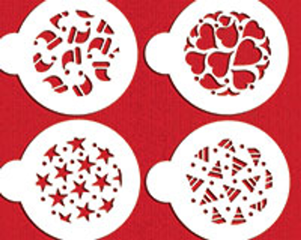 Holiday Cookies Stencil