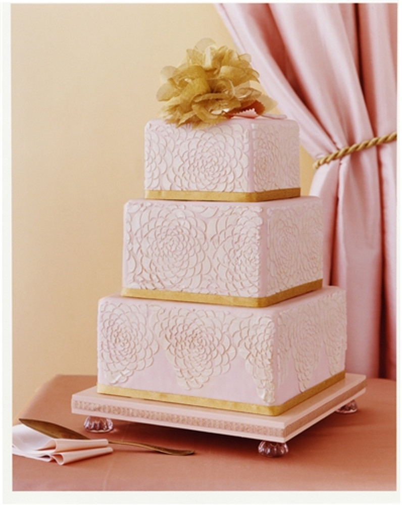Camilla Rose - Bottom Tier Cake Stencil