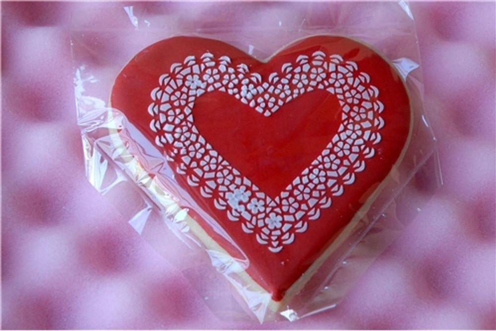 Lace Heart Stencil Set (no cutter)