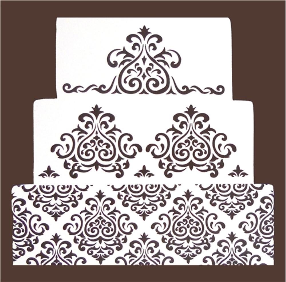 Elaine's Cake Stencil Set