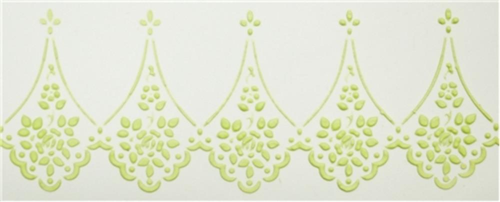 Alencon Lace Companion Cake Stencil