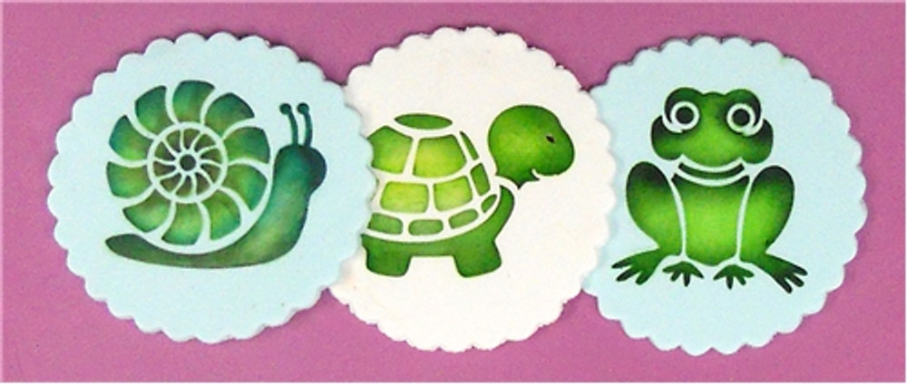 Pond Critters Cookie Set