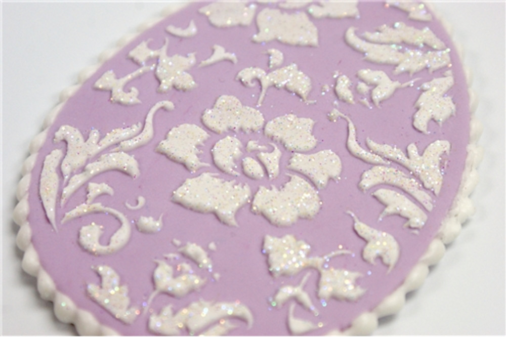 Chic Easter Eggs Cookie Stencil