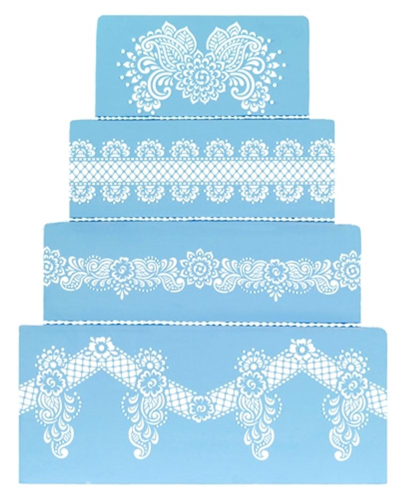 Chelsea Cake Stencil Set