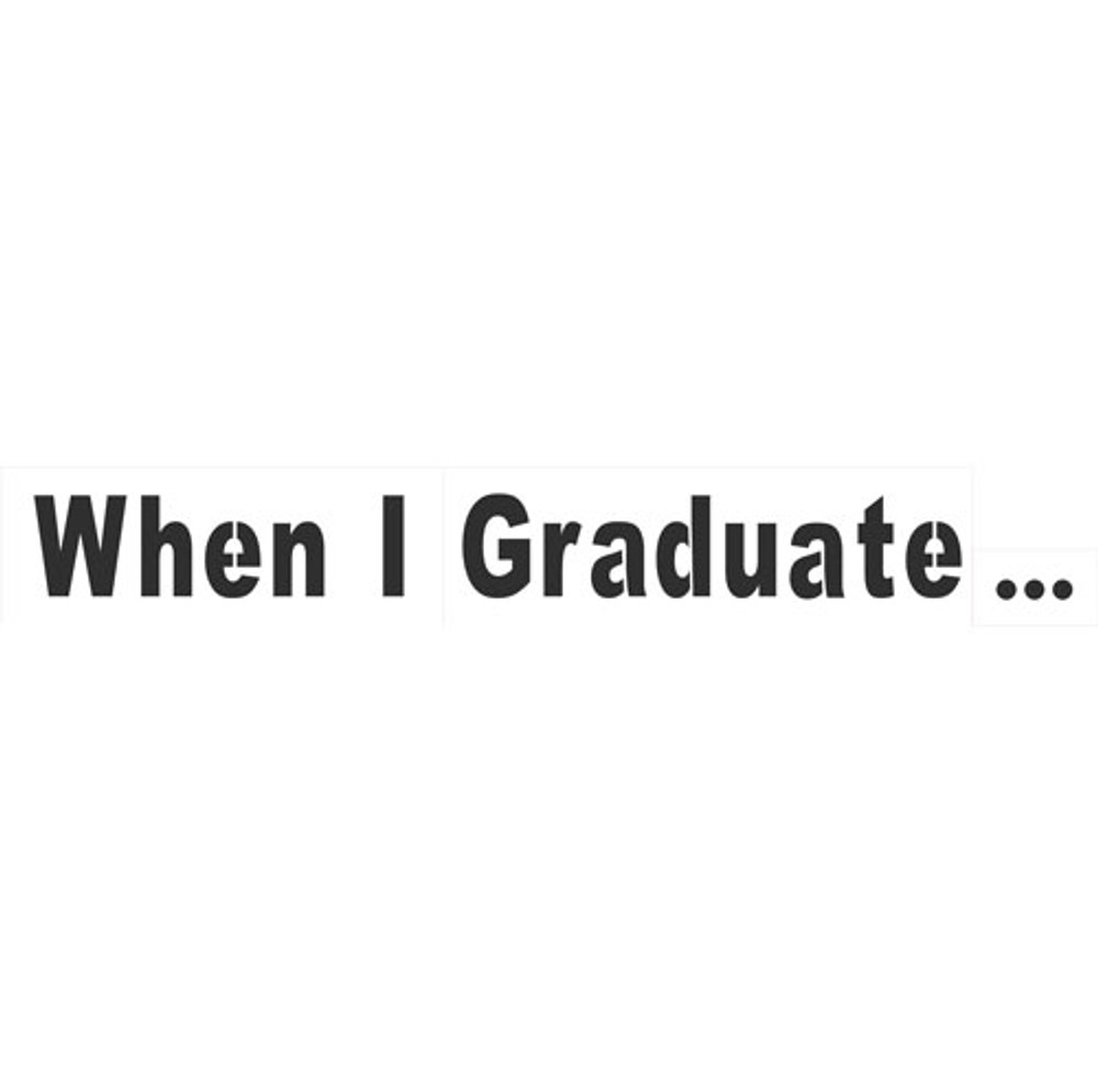 When I Graduate... - Headline