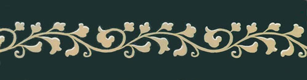 Vine Scroll Wall Stencil by Jeff Raum