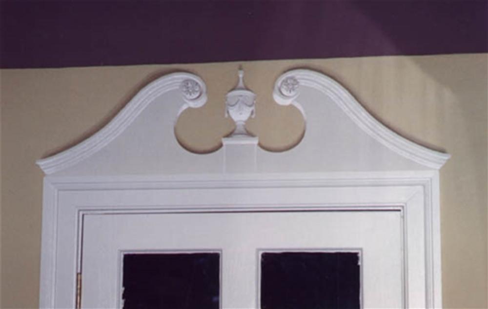 Colonial Pediment by Jeff Raum