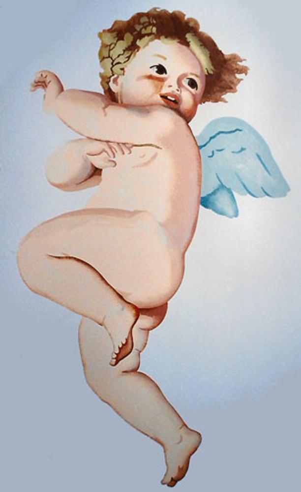 Coy Cherub - Small by Jeff Raum