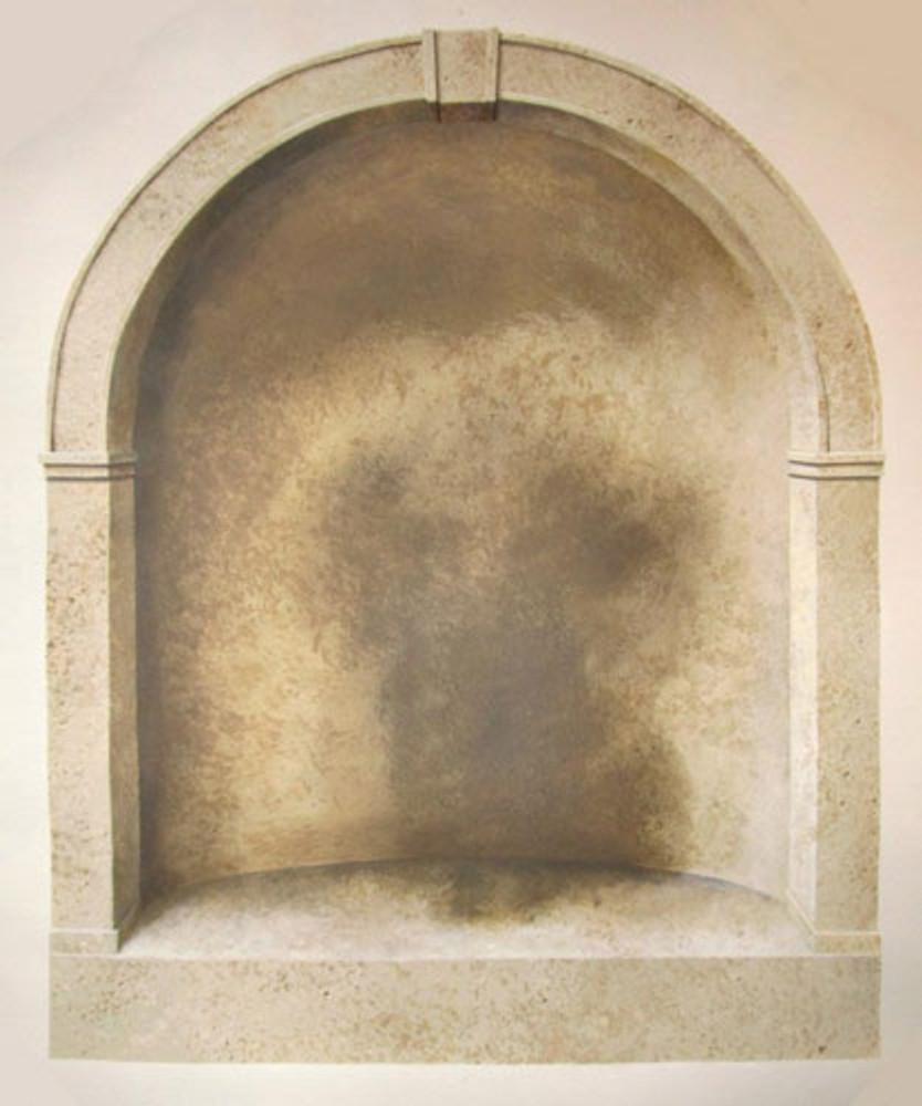 Arched Window or Niche Stencil by Jeff Raum