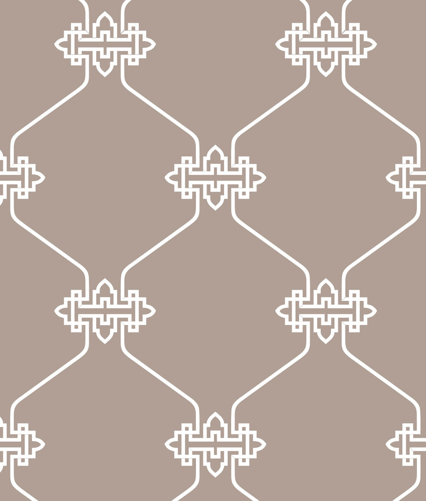 Chinese Lattice All Over Wall Stencil