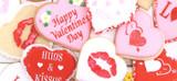 Love & Valentine's Cookie & Candy Stencils