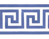 Greek Key Wall Stencil Border