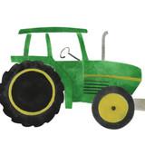 Farm Tractor Wall Stencil