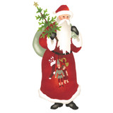 Large Father Christmas Wall and Craft Stencil SKU #3376A