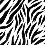 Zebra Skin Wall Stencil