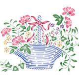 Small Flower Basket Wall Basket