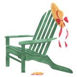 Small Adirondack Chair Wall Stencil