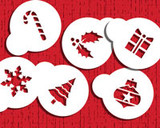Holiday Cupcake/Cookie Tops Stencils