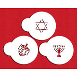 Jewish Symbols Cookie/Candy Tops 1.5""