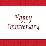 Happy Anniversary Business Card Cake Stencil