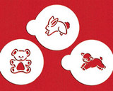 Baby Animals Cookie Stencils