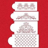 Princess Lace Cake Stencil Set