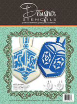 Jewish Dreidel Cookie Stencil Set (no cutter)