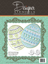 Decorated Eggs Cookie Stencil Set (no cutter)