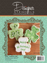St. Patrick's Day Shamrock Cookie Cutter & Stencil Set