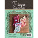 Stocking Cookie Cutter and Stencil Set