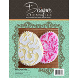 Egg Cookie Cutter & Stencil  Set