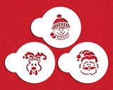 Whimisical Holiday Cookie Stencil Set