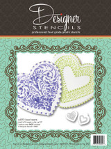 Lace Heart Stencil Set (no cutter)