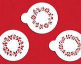 Flower Chain Cookie Stencil Set