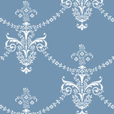 Petite Antique Wallpaper Wall Stencil
