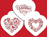Be My Valentine Heart Cookie Stencil Set