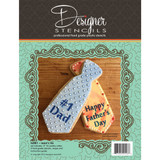 Father's Day Tie Stencils and Tin Cutter Set