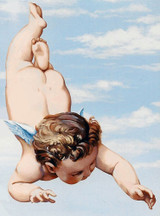 Bottoms Up! Cherub by Jeff Raum