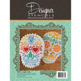 Sugar Skulls Stencils and Tin Cutter Set