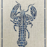 Lobster Frame Wall Stencil