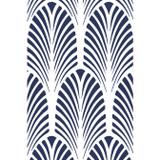 Great Gatsby Art Deco Fan Wall Stencil