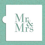 Mr & Mrs Cookie and Craft Stencil