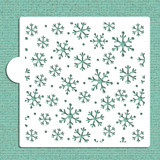 Snowflakes Cookie and Craft Stencil