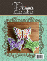Butterflies Tin Cookie Cutter and Stencil Set
