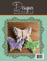 Butterflies Tin Cookie Cutter and Stencil Set
