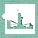 Statue of Liberty Cookie and Craft Stencil