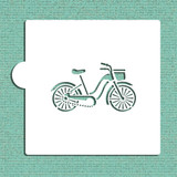 Bicycle Cookie and Craft Stencil