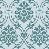 Small Royal Damask All Over Wall Stencil