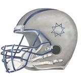 Football Helmet Stencil by DeeSigns