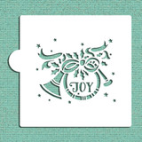 Joy French Horn Cookie and Craft Stencil